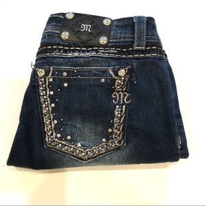 Miss Me Easy Crop Jeans Size 30